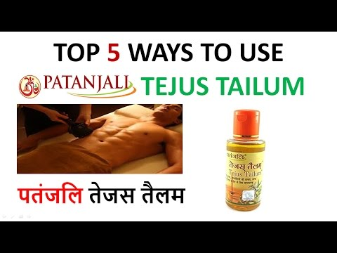 Patanjali tejus tailum benefits/ Top 5 ways to use tejus oil