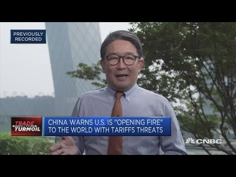 China warns US is 'opening fire' to the world with tariff threats | In The News