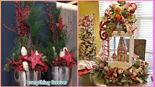 Beautiful Christmas Flowers Arrangements Ideas/Christmas Centerpieces
