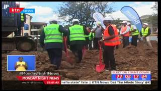 Britam breaks ground on a Sh3.3 billion service department project in Kilimani area