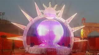 New Bride Groom Stage Entry Varmala Jaimala Concept .. Sunny Marjss +91-9799490748 Www.marjss.com
