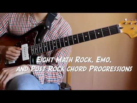 8 Math Rock, Emo, And Post Rock Chord Progressions