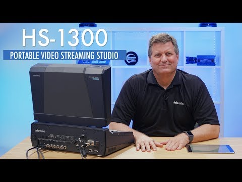 Datavideo HS-1300 Live Video Streaming Studio Switcher