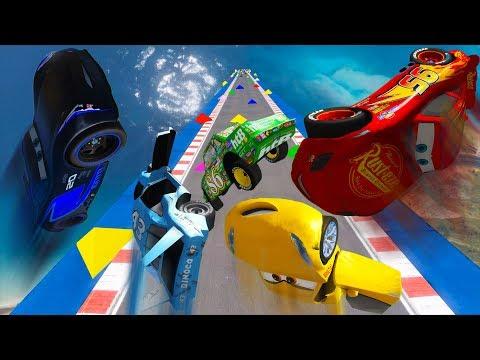 Crash Cars 3 McQueen Jackson Storm Cruz Ramirez Mater King Chick Hicks & Friends Disney Pixar Cars