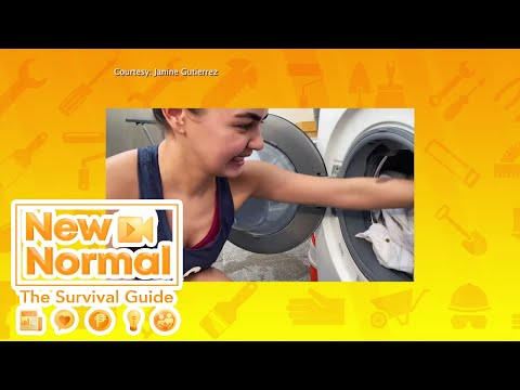 [GMA]  Home Work: Quarantine laba hacks with Janine Gutierrez! | New Normal