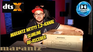 Marantz NR1711 Slimline-AV Receiver mit 7-Kanälen und 8K Video-Upscaling / Review / Unboxing
