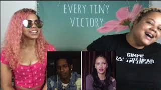 A$AP Rocky Answers 18 Questions From Rihanna | GQ Reaction