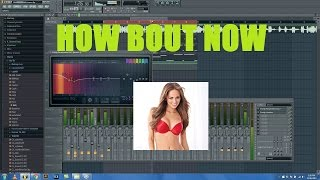 Drake How Bout Now Bass Tutorial FL Studio