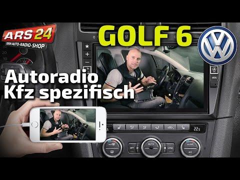 VW Golf 6 Autoradio mit unglaublich großen Bildschirm einbauen | TUTORIAL | ARS24