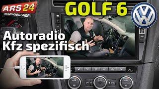 VW Golf 6 Autoradio mit unglaublich großem Bildschirm einbauen | ARS24