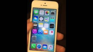 Iphone 5s EE locked