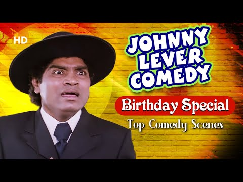 Happy Birthday Johnny Lever – जॉनी लीवर कॉमेडी हिट्स  – Best Comedy Scenes | Hindi Movies