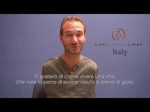 Un saluto di Nick all'Italia