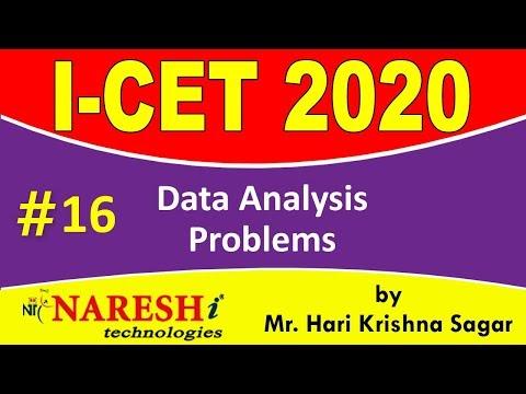 Data Analysis Problems | ICET 2020 Exam Preparation Plan and ...