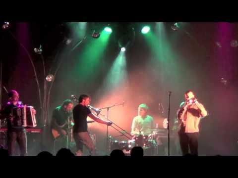 """GAGADILO """"Snakédélik"""" Live @ le Fil + Youngblood Brass Band...15/11/12"""