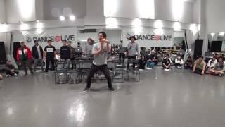 がんそ (minority / DELTRIX) JUDGE DEMO / DANCE@LIVE 2017 RIZE KANTO CLIMAX