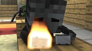 Monster School (Preschool) - Drag Race! - Minecraft Animation