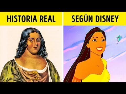 Como Eran Las Princesas De Disney En La Vida Real