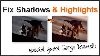 How to fix bright highlights and dark shadows in Lightroom