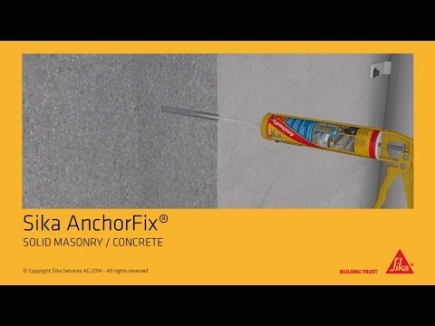 How to: Anchor Solid Masonry / Concrete