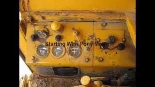 Starting 1951 Caterpillar D8 with pony motor - Z kill92