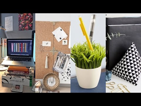 46 CLEVER DIY IDEAS TO DECOR YOUR CUBICLE