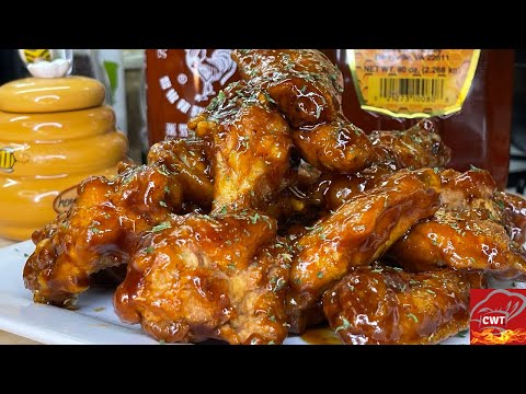Honey BBQ Sriracha Wings