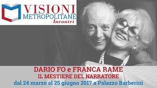 """Visioni Metropolitane Incontri #4 Intervista a Giulia e Jacopo Fo sulla mostra """"Il mestiere del"""
