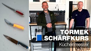 Messerschärfen | Teil 1 | Tormek Live Schärf-Kurs