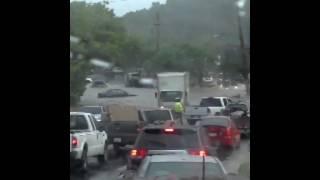preview picture of video 'Camino Trujillo alto inundado'