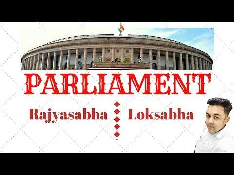STRUCTURE OF PARLIAMENT | LOK SABHA and RAJYA SABHA | VARUN AWASTHI