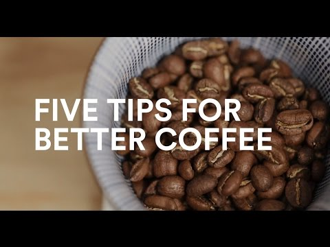 5 tips for better coffee | forbetter.coffee