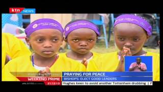 Catholics faithful's hold special ceremony to pray for peace during election period