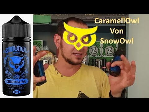 YouTube Video zu Snowowl Caramellowl Longfill Aroma 15 ml für 100 ml
