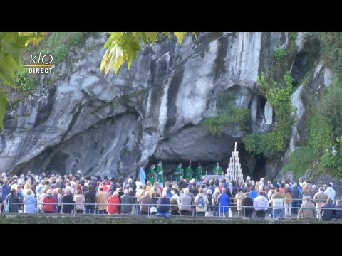 Messe de 10h à Lourdes du 19 septembre 2021