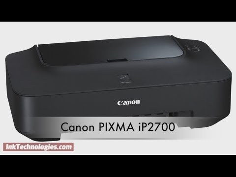 Canon PIXMA iP2700 Instructional Video
