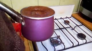 Как варить  кофе по турецки.