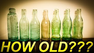 ANTIQUE COKE BOTTLE AGE | HOW TO TELL THE AGE OF COCA COLA BOTTLES