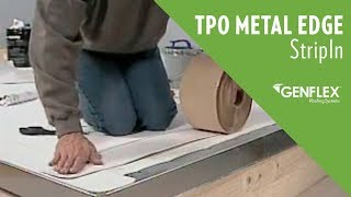 TPO Metal Edge StripIn