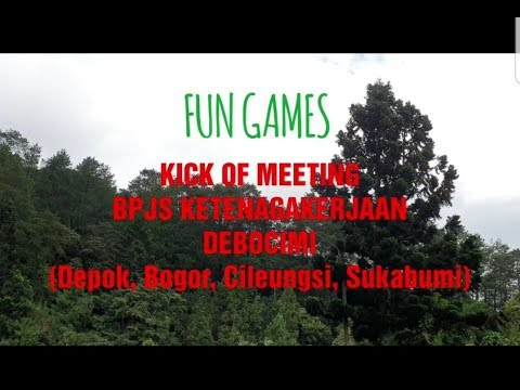FUN GAME BPJS KETENAGAKERJAAN - KICK OF MEETING 2019