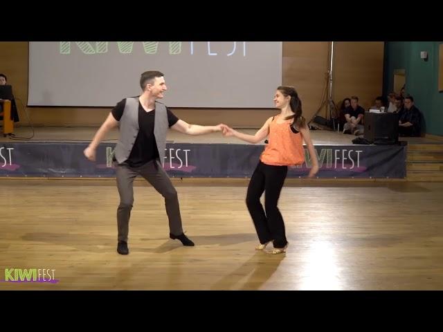 Семён Овсянников и Мария Елизарова Kiwi Fest 2017 Pro Show