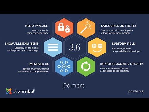 Joomla 3.6 Tutorial for Beginner - YouTube