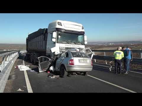 Accident mortal pe centura Sucevei