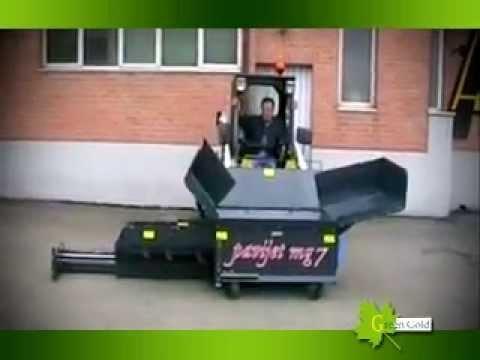 MiniPaver ADJUNTA MG7 control remoto // www.greengoldcompany.cl