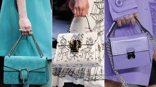 Модные сумки на сезон осень- зима 2016-2017 // Trendy bags for the season autumn - winter