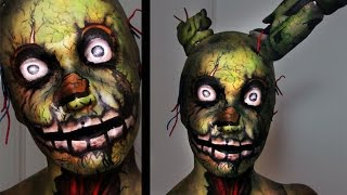 Springtrap | Five Nights at Freddy's 3 | Makeup Tutorial