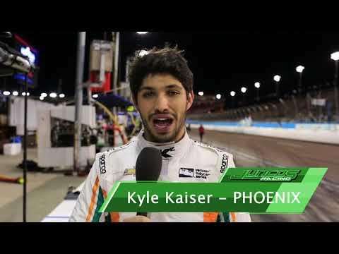 Kyle Kaiser Completes ISM Raceway