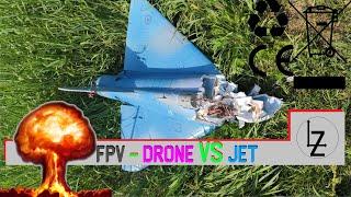 FPV - Inseguimento Aereo - JET VS QUAD
