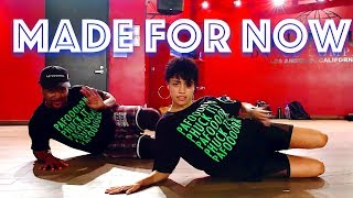 """Janet Jackson   """"Made For Now""""   JR Taylor Choreography"""
