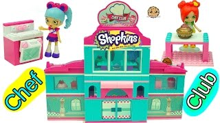 Shoppies Bake At Season 6 Chef Club Academy Shopkins Playset + Surprise Blind Bags